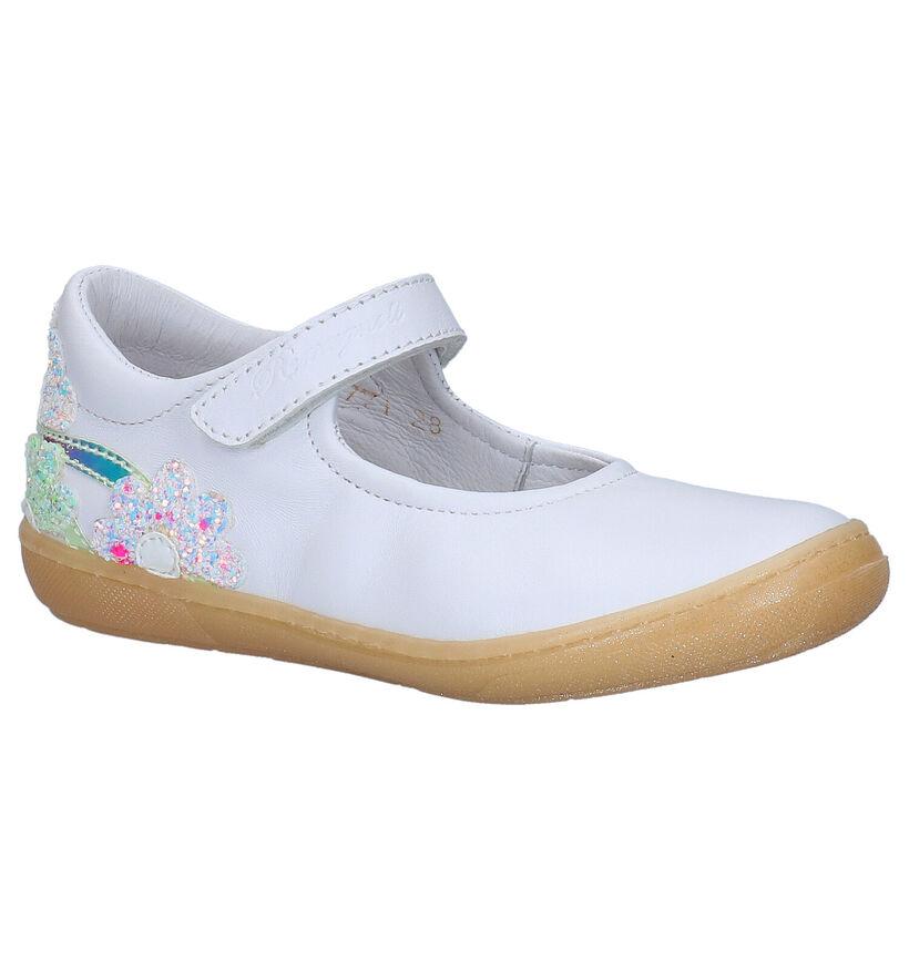 Romagnoli Chaussures basses en Blanc en cuir (269562)