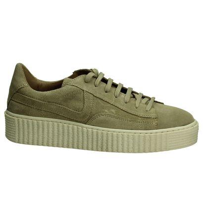 Post Xchange Donker Beige Sneakers, Beige, pdp