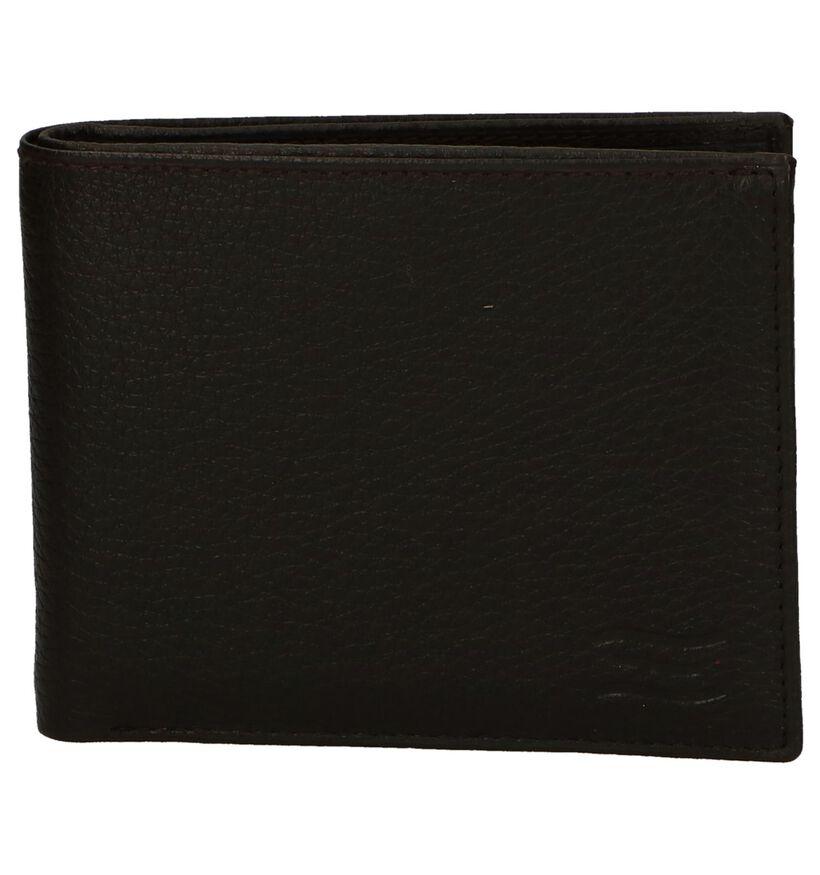 Crinkles Zwarte Portefeuille in leer (295941)
