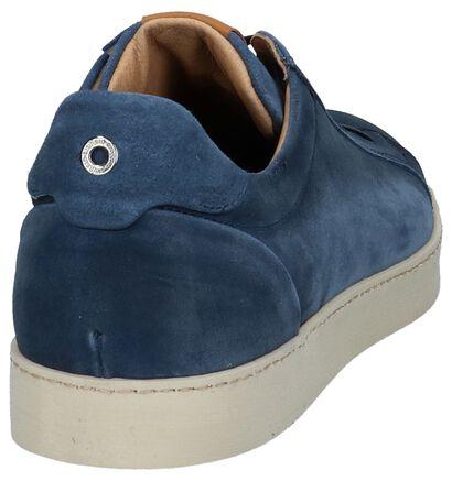 Giorgio Chaussures basses en Bleu foncé en daim (219849)