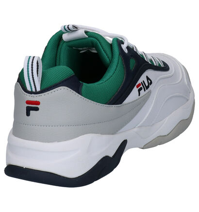 Fila Ray CB Witte Sneakers in kunstleer (253535)