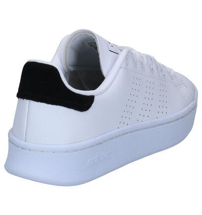 adidas Advantage Bold Sneakers Zwart in leer (264878)