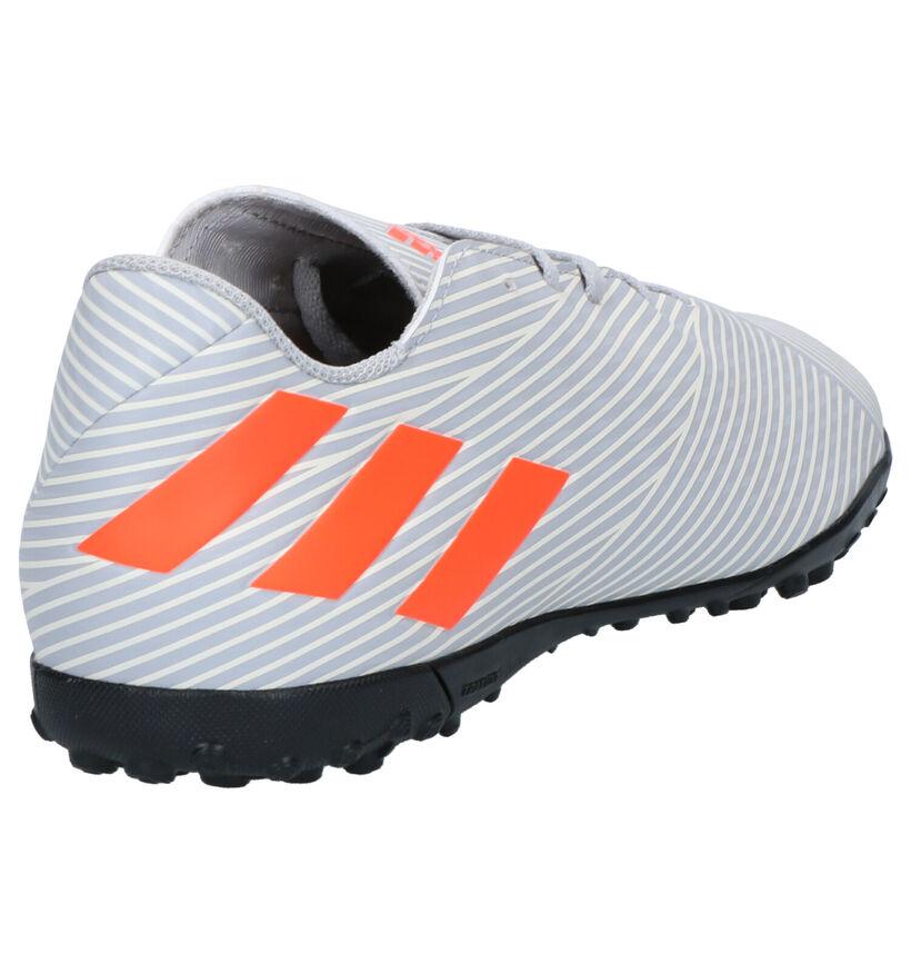 adidas Nemeziz 19.4 Grijze Voetbalschoenen in kunstleer (262575)