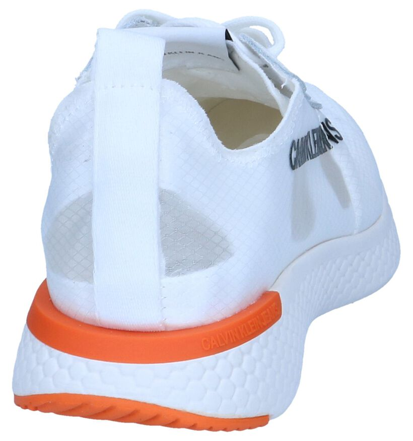 Witte Sneakers Calvin Klein Alexia in stof (241600)