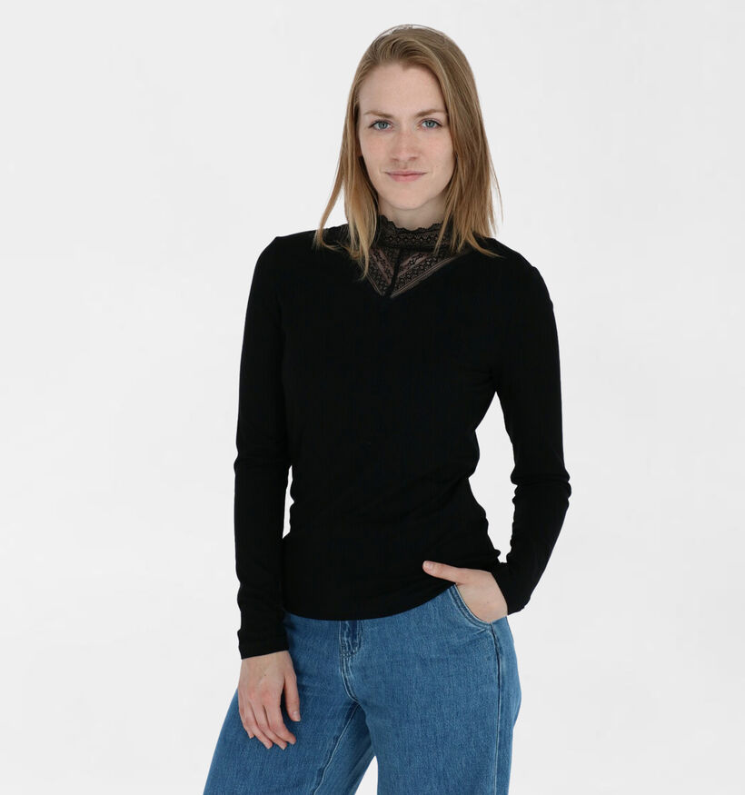 Vila Zwarte T-shirt (284891)