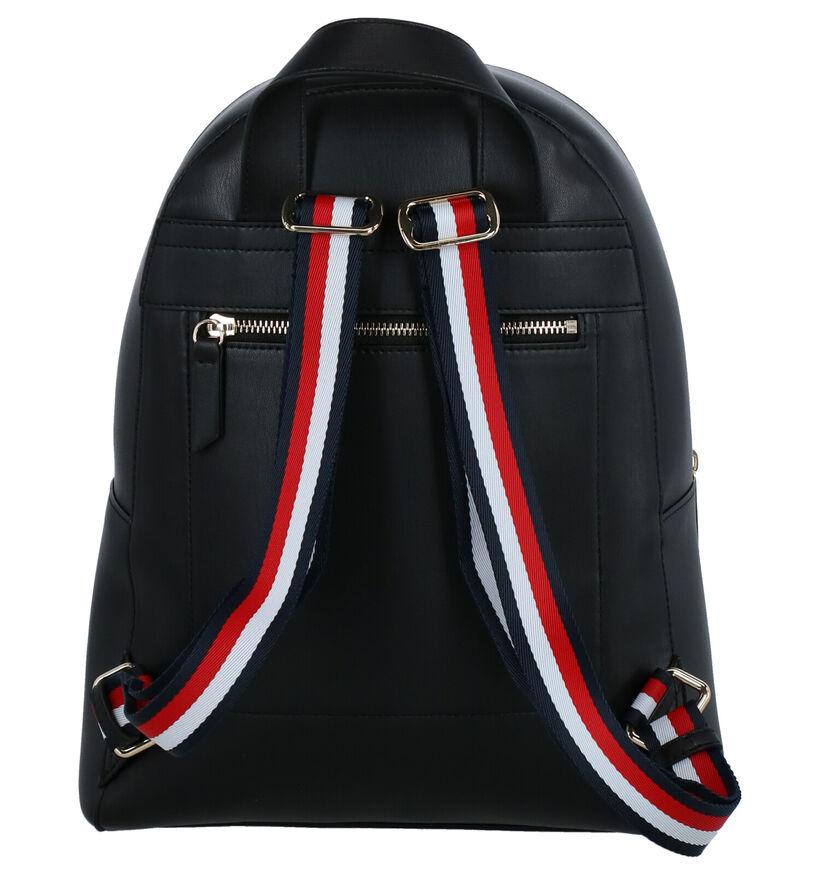 Tommy Hilfiger Iconic Sac à Dos en Noir en simili cuir (257011)