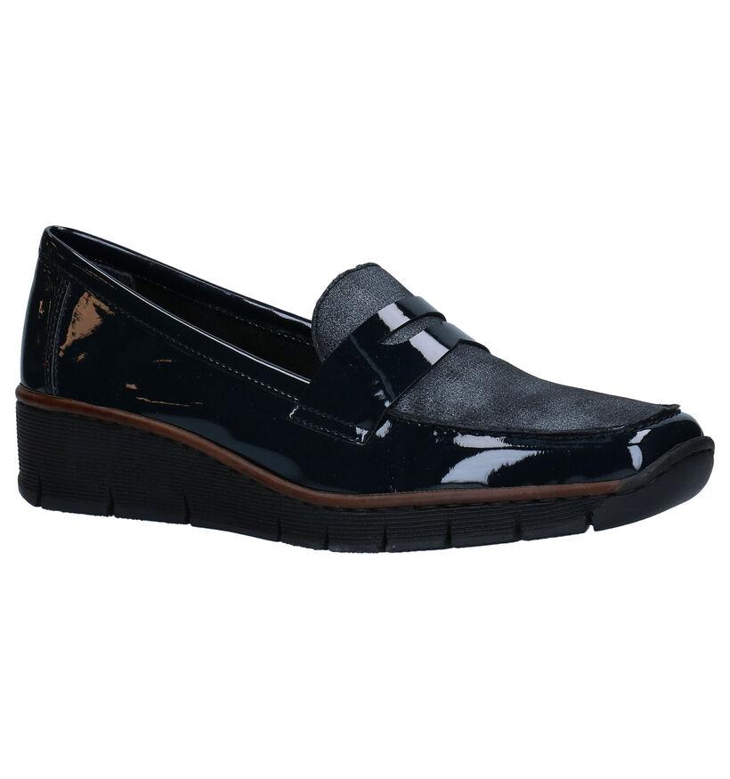 Rieker Chaussures slip-on en Bleu (283999)