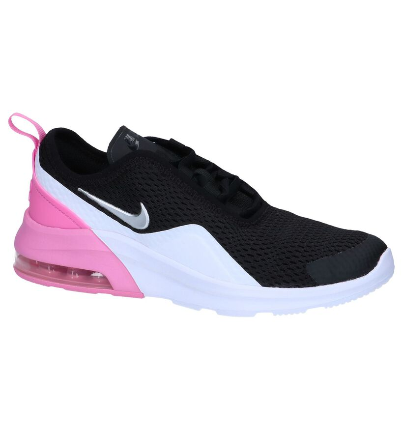 Zwarte Sneakers Nike Air Max Motion in stof (249852)