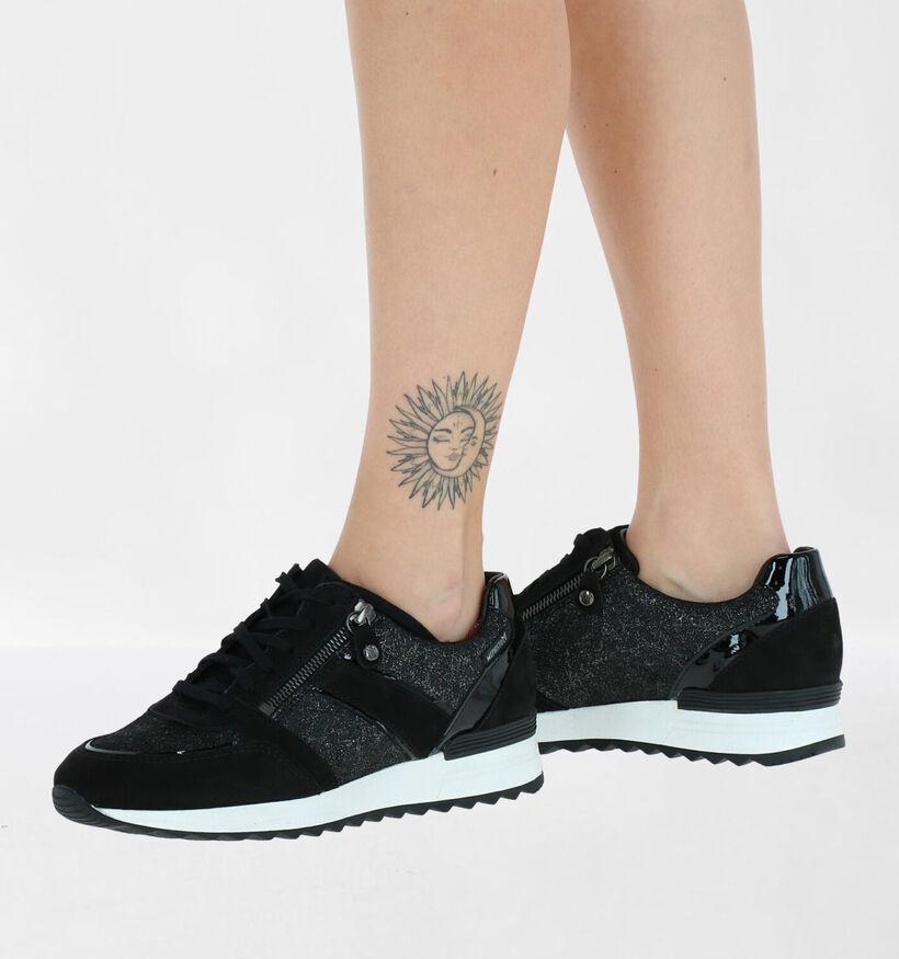 Mephisto Toscana Chaussures à lacets en Noir en cuir verni (280987)
