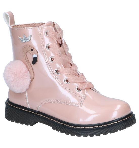 Milo & Mila Chaussures hautes en Rose clair