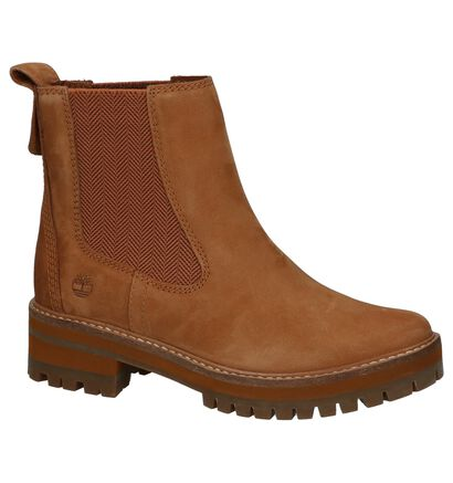 Timberland Courmayeur Chaussures Hautes en Marron en nubuck (255295)