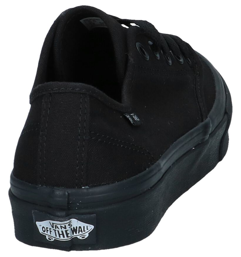 Vans Camden Stripe Baskets Skate en Noir en textile (253465)