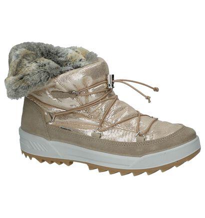 Skandia Bottes de neige en Or en textile (200822)