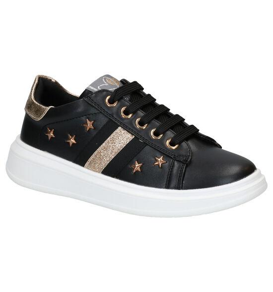 Asso Zwarte Sneakers