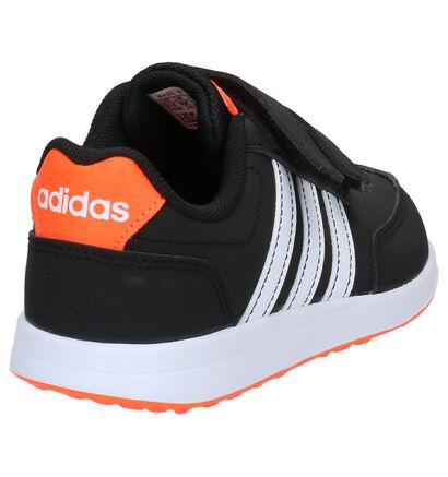 adidas VS Switch 2 Baskets en Noir en textile (264872)