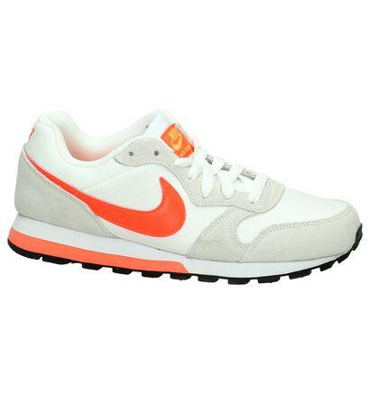 Lichtgrijze Sneakers Nike MD Runner 2, Wit, pdp