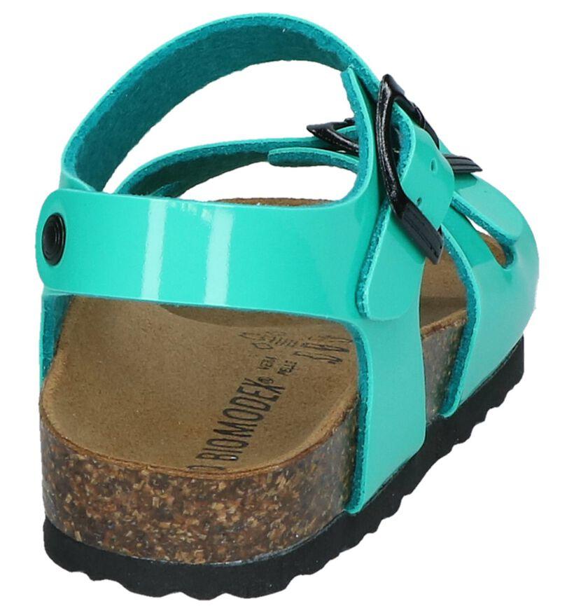 Biomodex Sandales en Vert en simili cuir (247652)