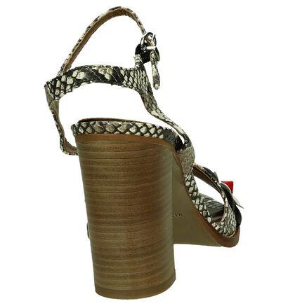 Les Autres Sandales à talons en Marron en cuir (195925)