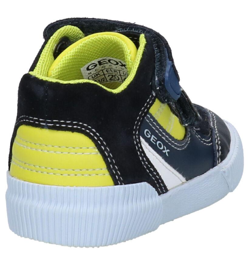 Geox Chaussures pour bébé  en Bleu en cuir (273256)