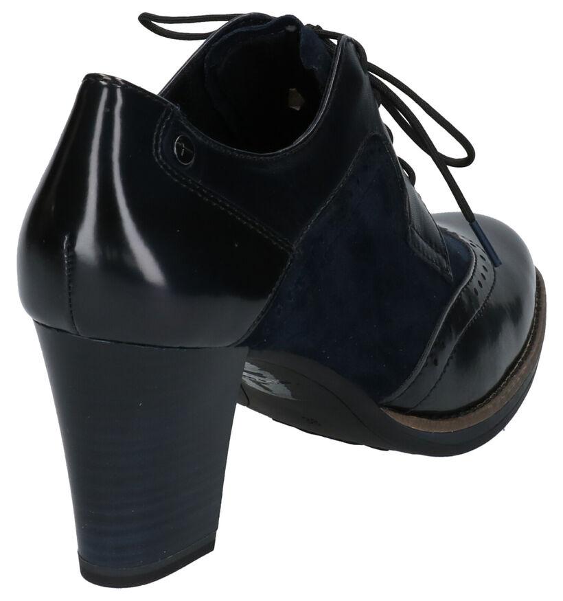 Tamaris Escarpins montants en Noir en cuir (257188)
