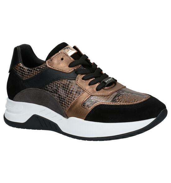 Scapa Chaussures à lacets en Noir