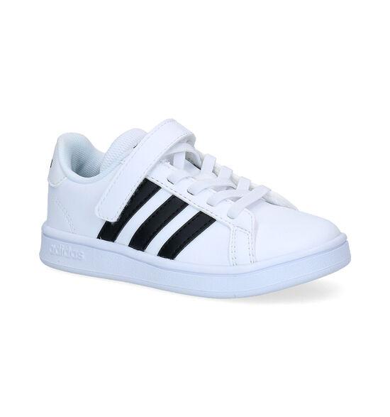 adidas Grand Court C Baskets en Blanc