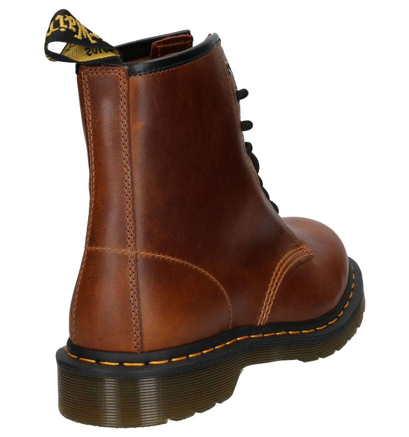 Dr. Martens 1460 Bruine Boots in leer (254231)