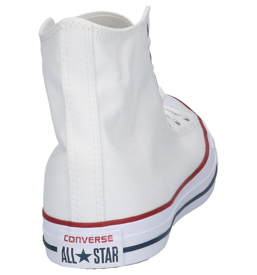 Witte Hoge Sneakers Converse Chuck Taylor AS in stof (238382)