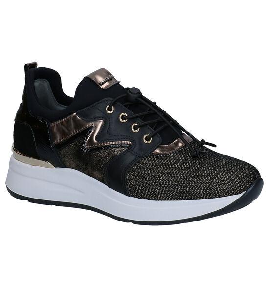 NeroGiardini Zwarte Slip-on Sneakers
