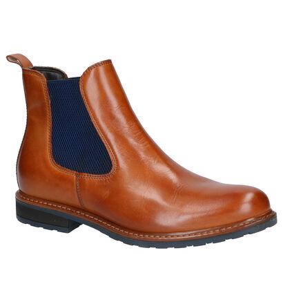 Tamaris Cognac Boots in leer (257166)