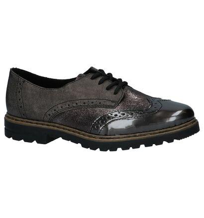 Rieker Chaussures à lacets en Bronze en simili cuir (234841)