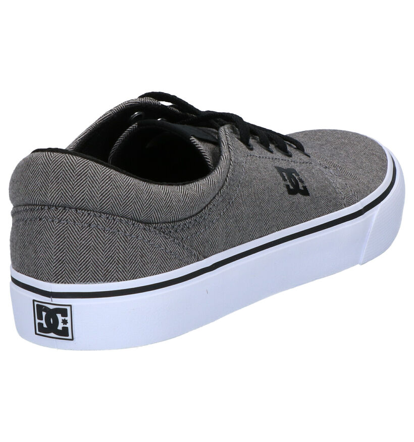 DC Shoes Trase TX Sneakers Skate en Gris en textile (267984)