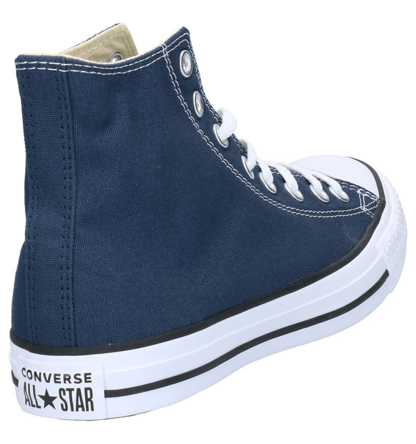 Converse Chuck Taylor All Star Hi Baskets en Blanc en textile (266467)