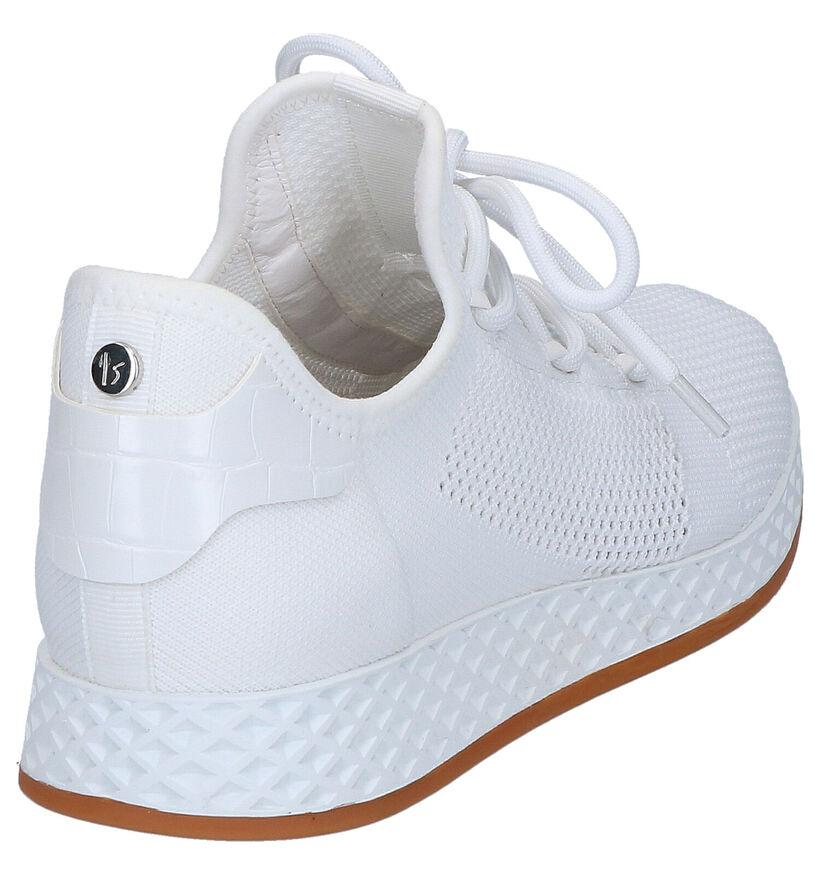 La Strada Zwarte Slip-on Sneakers in stof (277429)