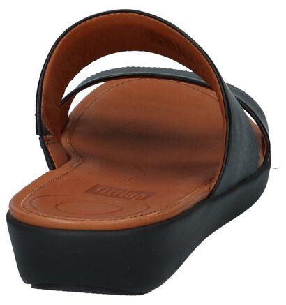 FitFlop Delta Slide Sandals Zwart, Zwart, pdp