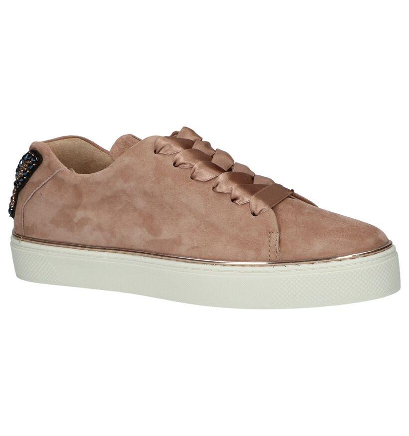 Roze Sneakers met Vlinder Hampton Bays in daim (218907)