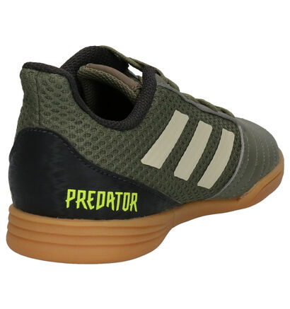 adidas Predator Zwarte Voetbalschoenen in kunstleer (252892)