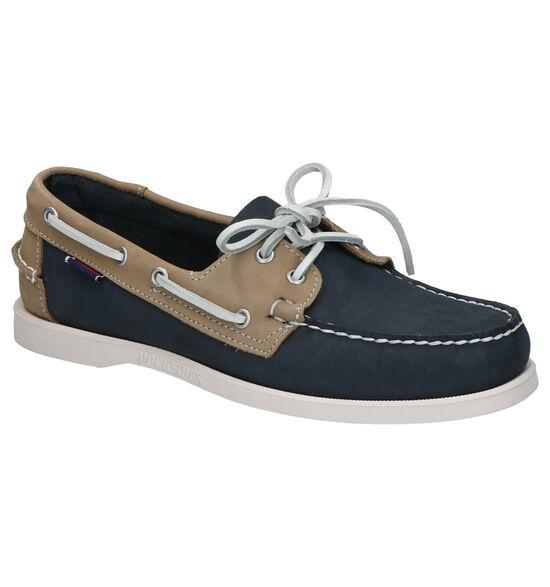Sebago Chaussures bateau en Bleu foncé