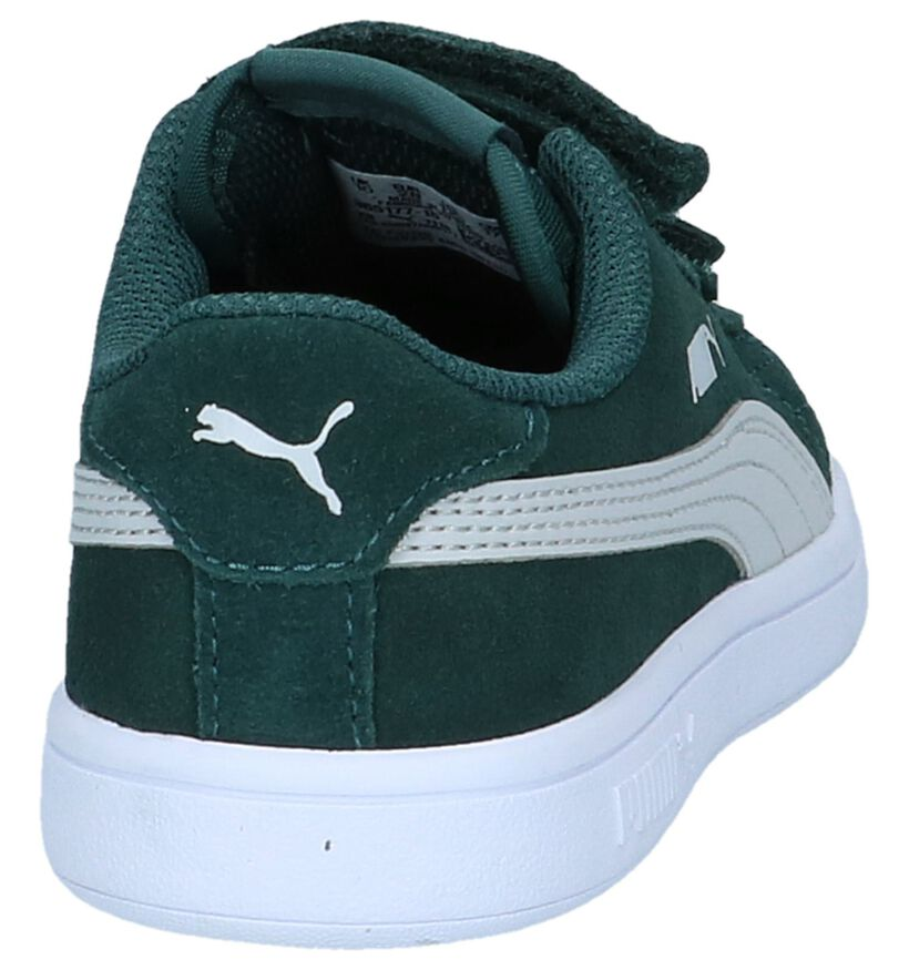 Puma Smash Baskets en Bleu en daim (265627)