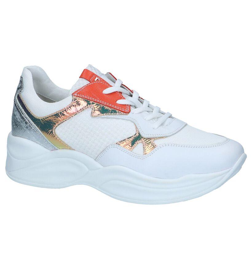 Witte Sneakers NeroGiardini in leer (251663)