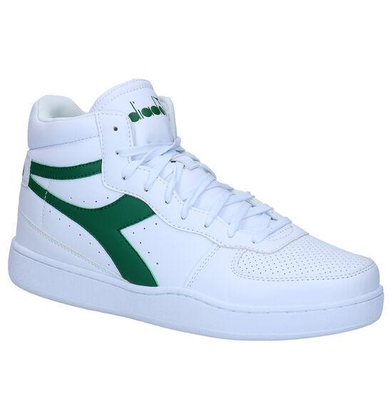 Diadora Baskets hautes en Blanc