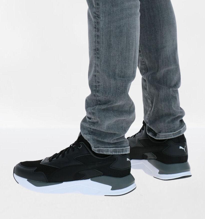 Puma X-Ray Lite Zwarte Sneakers in kunstleer (276741)