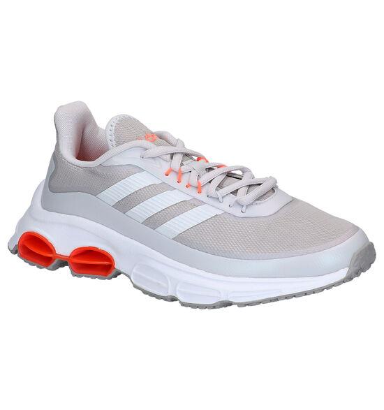 adidas Quadcube Lichtgrijze Sportschoenen