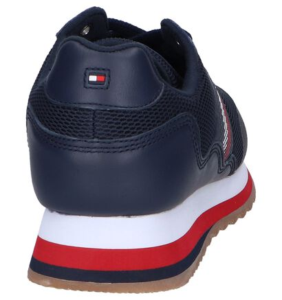Witte Sneakers Tommy Hilfiger Tommy Corporate, Blauw, pdp