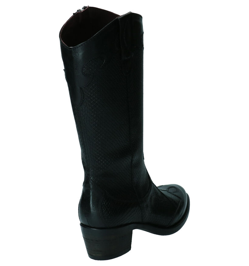 Brako Anatomics Bottes hautes en Noir en cuir (261388)