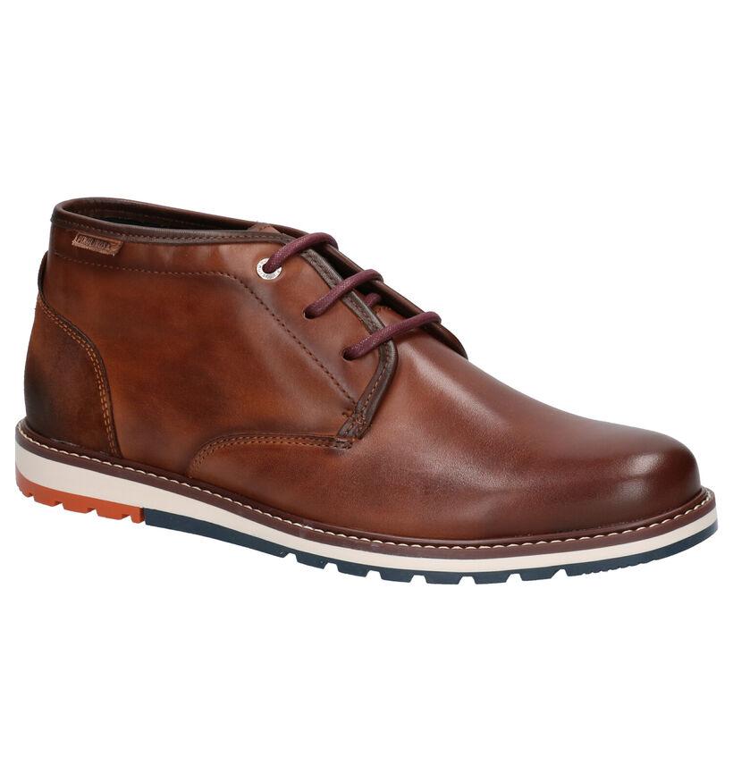 Pikolinos Chaussures hautes en Cognac en cuir (261429)