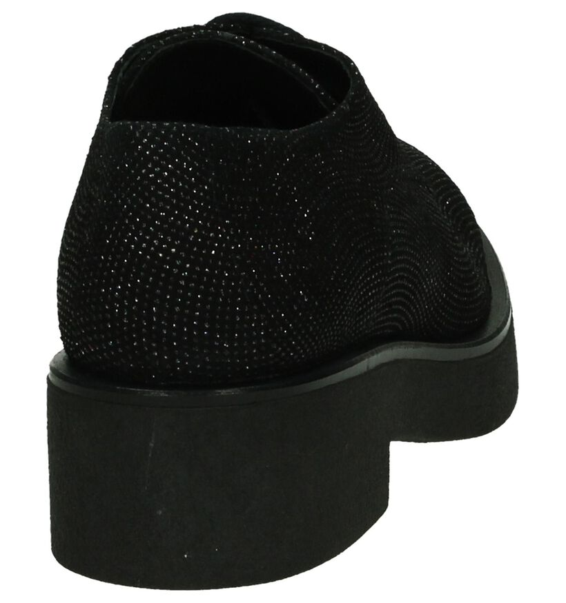 Weekend Chaussures à lacets en Noir en daim (185596)
