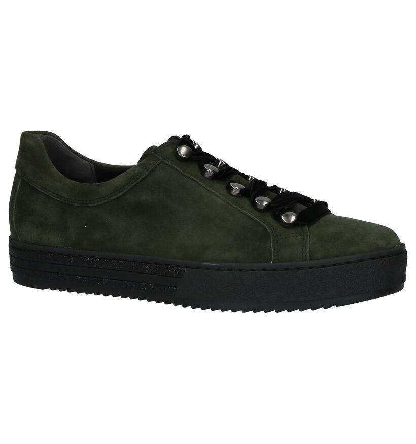 Gabor Comfort Chaussures à lacets en Bronze en daim (231270)