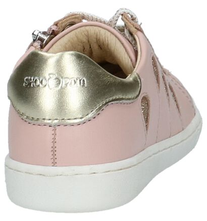 Shoo Pom Ducky Balloon Witte Rits/Veter Schoenen, Roze, pdp
