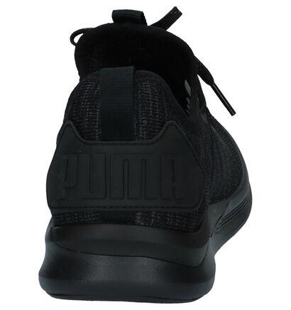 Zwarte Sneakers Puma Ignite in stof (239361)